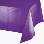 Touch of Color Amethyst Purple Plastic Tablecloth (318939)