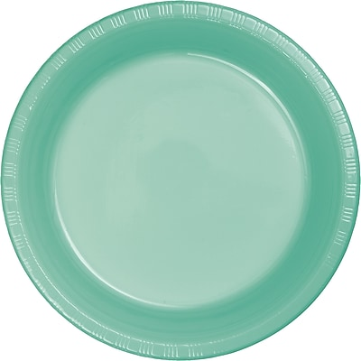 Touch of Color Fresh Mint Green Plastic Plates, 20 pk (318878)
