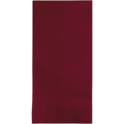Touch of Color Burgundy Red Napkins, 8.5 x 4, 50 pk