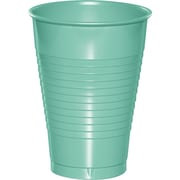 Touch of Color Fresh Mint Green 12 oz Plastic Cups, 20 pk (318882)