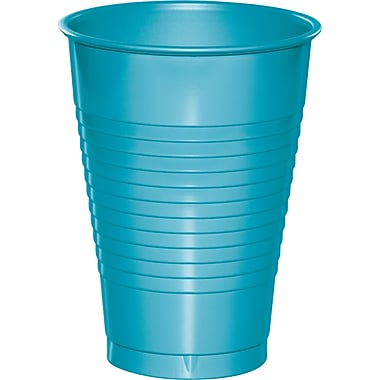 Touch of Color Bermuda Blue 12 oz Plastic Cups, 20 pk (28103971)