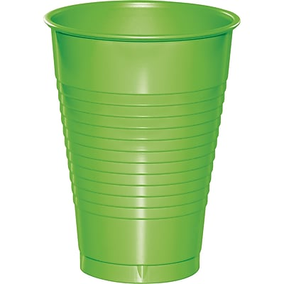 Touch of Color Fresh Lime Green 12 oz Plastic Cups, 20 pk (28312371) 2634408