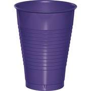 Touch of Color Purple 12 oz Plastic Cups, 20 pk (28115071)