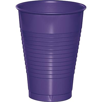 Touch of Color Purple 12 oz Plastic Cups, 20 pk (28115071)