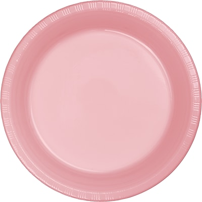 Touch of Color Classic Pink Plastic Plates, 20 pk (28158021)