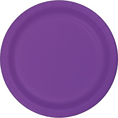 Touch of Color Amethyst Purple Paper Plates, 24 pk (318927)