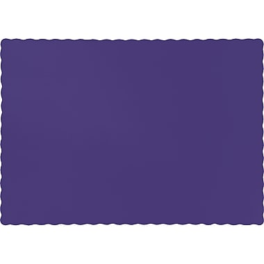 Touch of Color Purple Placemats, 50 pk (863268B)