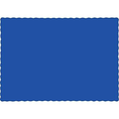 Touch of Color Cobalt Blue Placemats, 50 pk (863147B)
