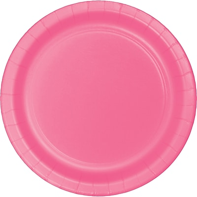 Touch of Color Candy Pink Dessert Plates, 24 pk (793042B)