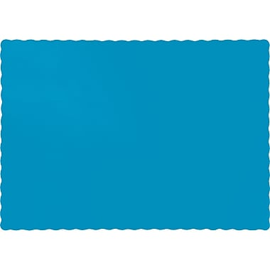 Touch of Color Turquoise Blue Placemats, 50 pk (863131B)