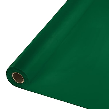 Touch of Color Hunter Green Plastic Banquet Roll (763124)