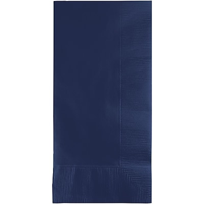 Touch of Color Navy Blue Napkins, 8.5 x 4, 50 pk