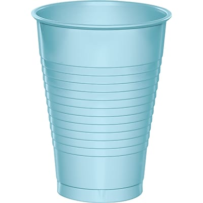 Touch of Color Pastel Blue 12 oz Plastic Cups, 20 pk (28157071) 2634374
