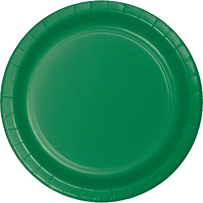 Touch of Color Emerald Green Paper Plates, 75 pk (483261B)
