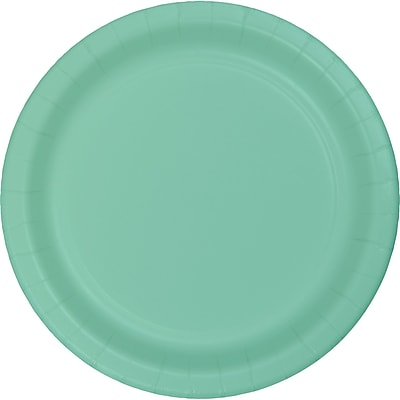 Touch of Color Fresh Mint Green Paper Plates, 24 pk (318888)