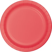 Touch of Color Coral Dessert Plates, 24 pk (793146B)