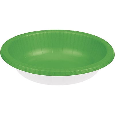 Touch of Color Fresh Lime Green Paper Bowls, 20 pk (173123)