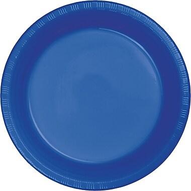 Touch of Color Cobalt Blue Plastic Dessert Plates, 20 pk (28314711)