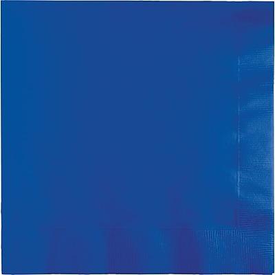 Touch of Color Cobalt Blue Napkins, 6.5 x 6.5, 50 pk