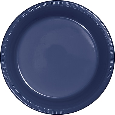 Touch of Color Navy Blue Plastic Plates, 20 pk (28113721)