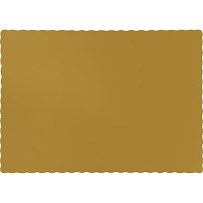 Touch of Color Glittering Gold Placemats, 50 pk (863276B)