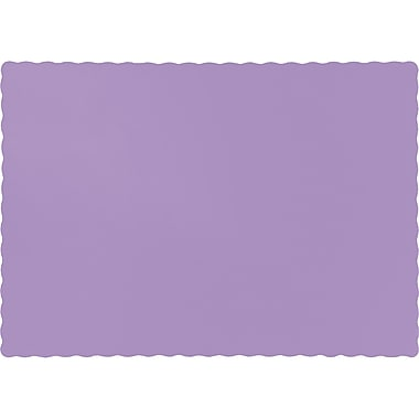 Touch of Color Luscious Lavender Purple Placemats, 50 pk (863265B)