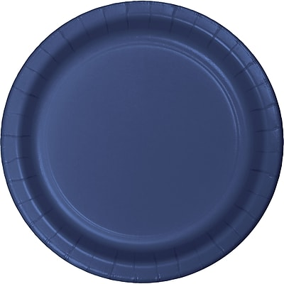 Touch of Color Navy Blue Dessert Plates,