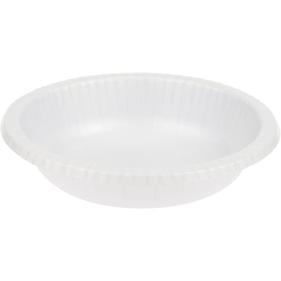 Touch of Color White Paper Bowls, 20 pk (173272)