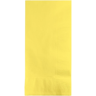Touch of Color Mimosa Yellow Napkins, 8.5 x 4, 50 pk