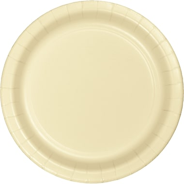 Touch of Color Ivory Dessert Plates, 24 pk (79161B)