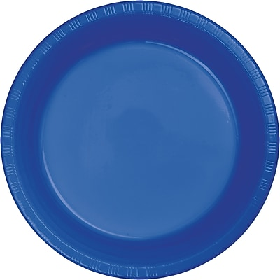 Touch of Color Cobalt Blue Plastic Plates, 20 pk (28314721)