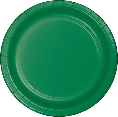 Touch of Color Emerald Green Dessert Plates,
