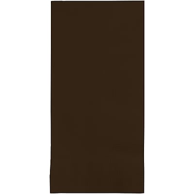 Touch of Color Chocolate Brown Napkins, 8.5 x 4, 50 pk