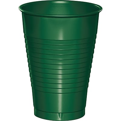 Touch of Color Hunter Green 12 oz Plastic Cups, 20 pk (28312471)
