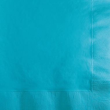 Touch of Color Bermuda Blue Beverage Napkins, 50 pk