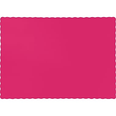 Touch of Color Hot Magenta Pink Placemats, 50 pk (863277B)