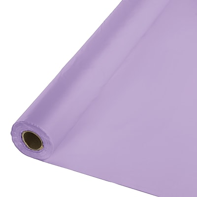 Touch of Color Luscious Lavender Purple Plastic Banquet Roll (013013)