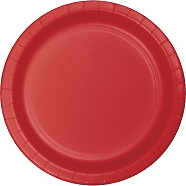Touch of Color Classic Red Paper Plates, 75 pk (483548B)