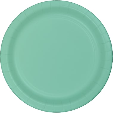 Touch of Color Fresh Mint Green Dessert Plates, 24 pk (318894)
