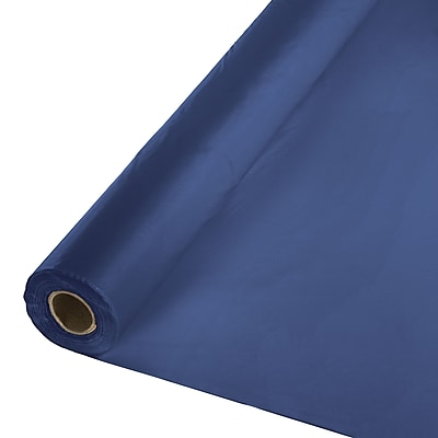 Touch of Color Navy Blue Plastic Banquet Roll (011137)