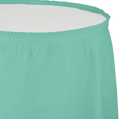 Touch of Color Fresh Mint Green Plastic Tableskirt (318892)