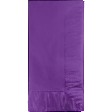 Touch of Color Amethyst Purple Napkins, 8.5 x 4, 50 pk