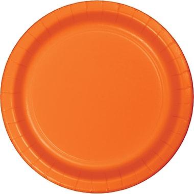 Touch of Color Sunkissed Orange Dessert Plates, 24 pk (79191B)