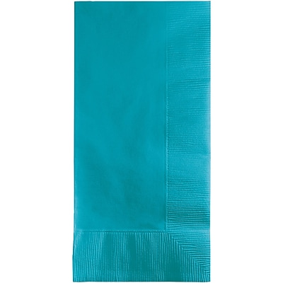 Touch of Color Bermuda Blue Napkins, 8.5 x 4, 50 pk