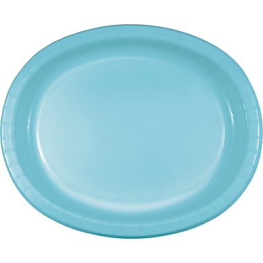 Touch of Color Pastel Blue Oval Plates, 8 pk (433279)