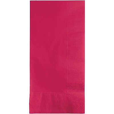 Touch of Color Hot Magenta Pink Napkins, 100 pk