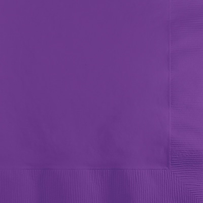 Touch of Color Amethyst Purple Beverage Napkins, 50 pk