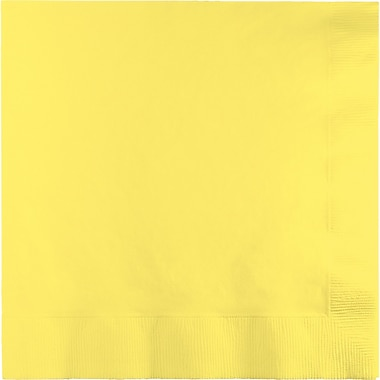 Touch of Color Mimosa Yellow Napkins, 6.5 x 6.5, 50 pk