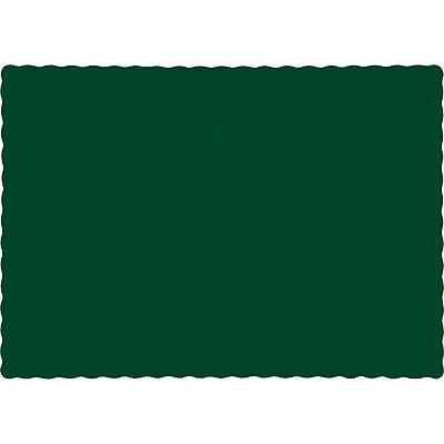 Touch of Color Hunter Green Placemats, 50 pk (863124B)