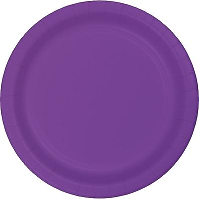 Touch of Color Amethyst Purple Plastic Plates, 20 pk (318917)